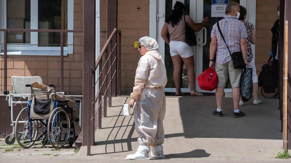 Коронавирус занимает места / В Черноземье снова увеличивается коечный фонд для пациентов с COVID-19