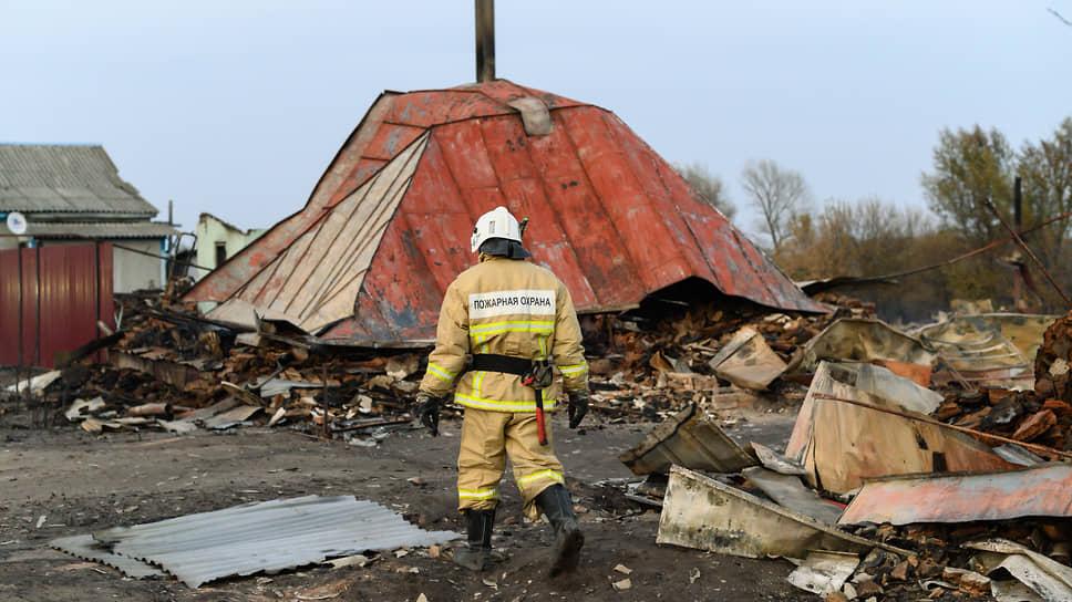 «Все ушло разом» / Как переживают лесной пожар жители воронежской Николаевки