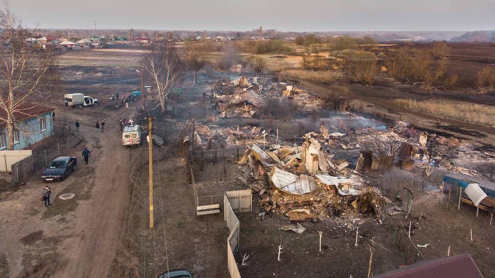 «Будто Бог на нас обиделся» / Первые же крупные ландшафтные пожары в Воронежской области уничтожили дома