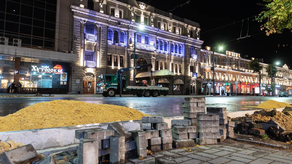 Энергетики вышли на проспект / Благоустройством главной улицы Воронежа за 521 млн рублей займутся «Россети»