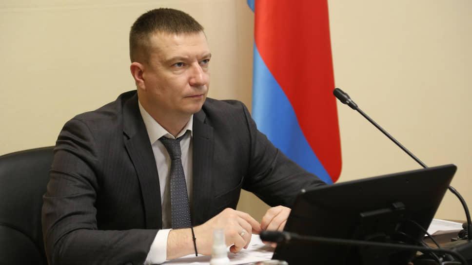 Руководитель управления здравоохранения Орловской области Иван Залогин.
