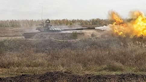 Летнее обучение танкистов 20-й армии завершилось «танковой дуэлью» под Воронежем