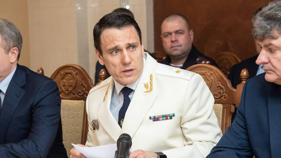 Прокурор Воронежской области Александр Гулягин
