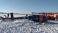 После жесткой посадки вертолета под Воронежем возбуждено уголовное дело