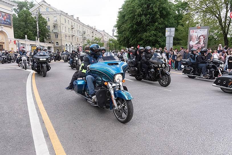 Мотофестиваль H.O.G. Spring Challenge в Воронеже
