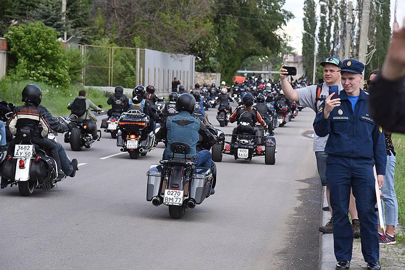 Кто-то впервые видел такое количество мотоциклов в одном месте