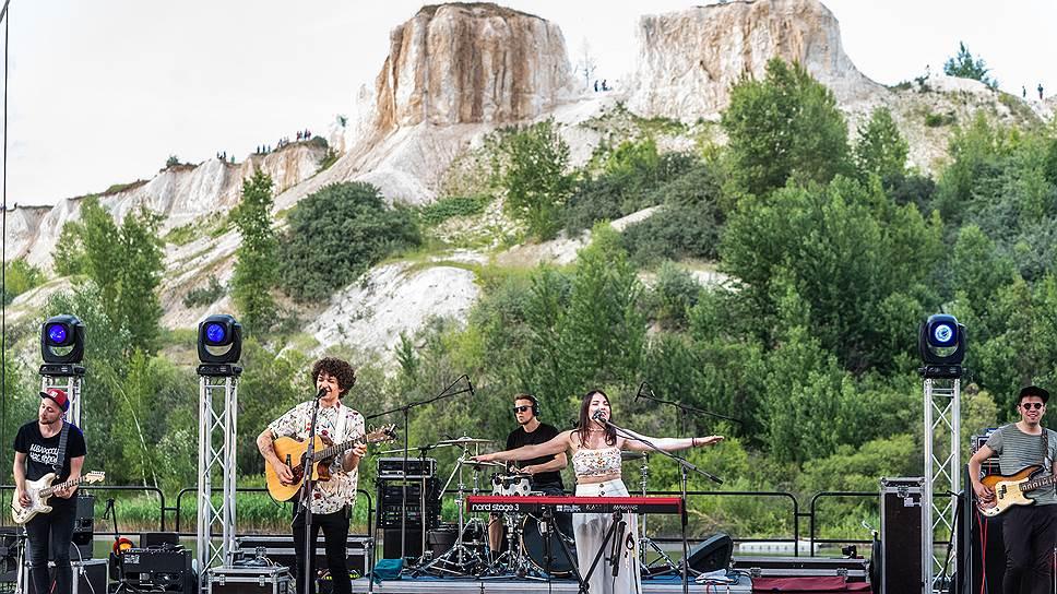 Однодневный open-air в «Белом колодце» открыла белорусская группа Naviband