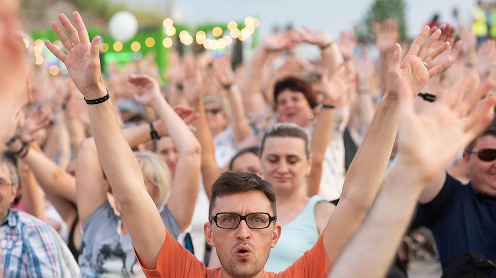 По данным дирекции Платоновского фестиваля, в «Белый колодец» приехало 3,8 тыс. человек