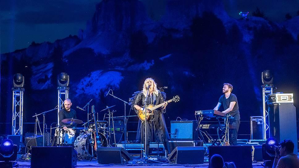 Хедлайнером концерта в «Белом колодце» стала фарерская певица Eivør