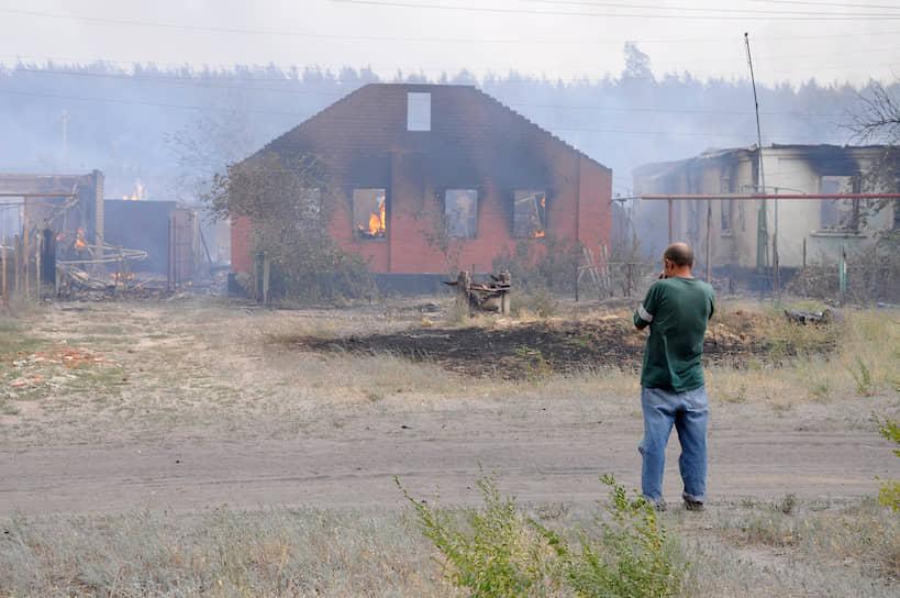 После пожаров власти решили снести сгоревшие дома в Масловке и построить новые