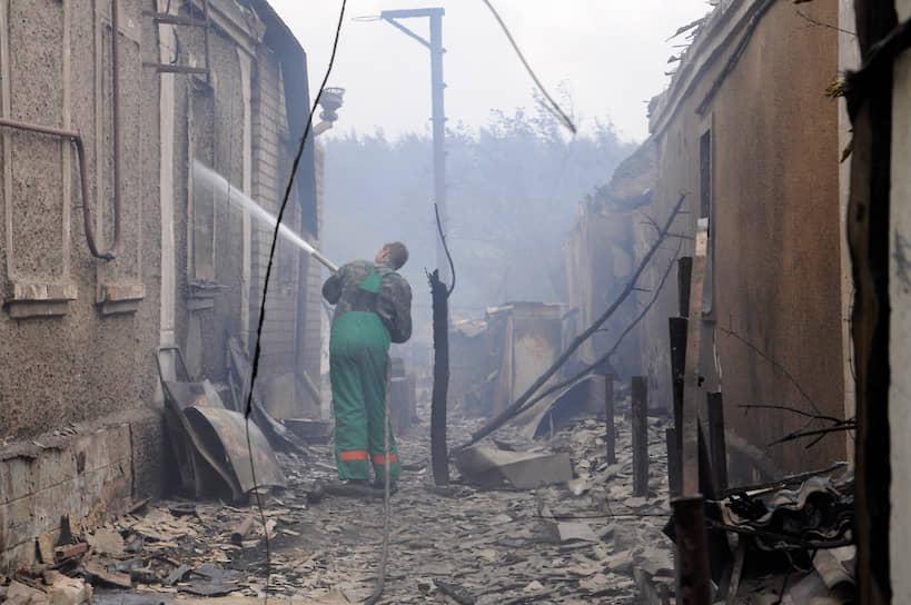 Из федерального бюджета на ликвидацию последствий пожаров региону было выделено около 1 млрд руб.