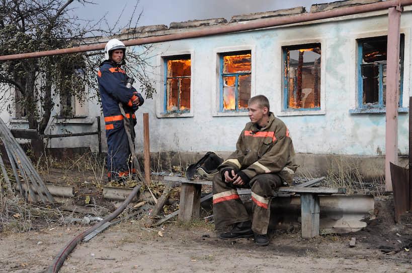 После нескольких дней борьбы с огнем оказалось, что на территории области уничтожено около 300 домов
