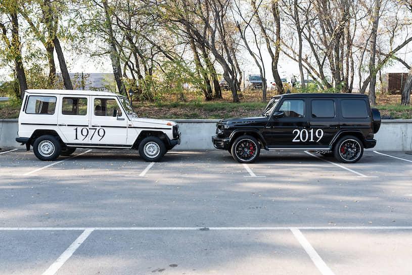 Mercedes-Benz G280 и G63 AMG — наглядная демонстрация 40-летней преемственности поколений Gelendewagen