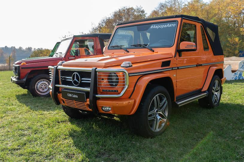 Mercedes-Benz G500 Cabrio