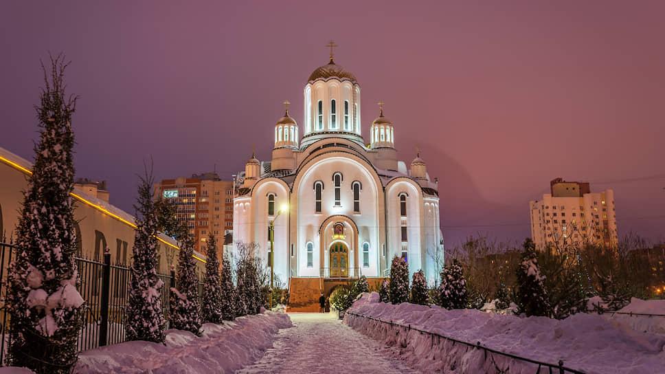 Храм во имя блаженной Ксении Петербургской