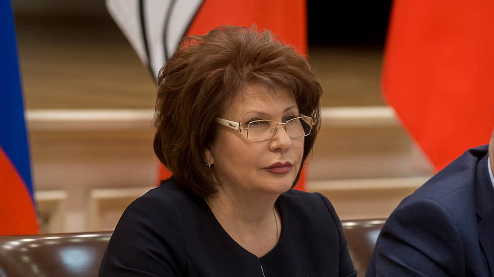 Надежда Сафонова, руководитель департамента финансов правительства Воронежской области