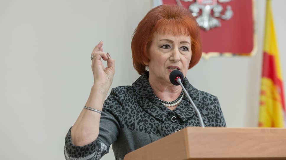 Галина Кудрявцева, член общественной палаты Воронежа, известный в регионе оппозиционный политик