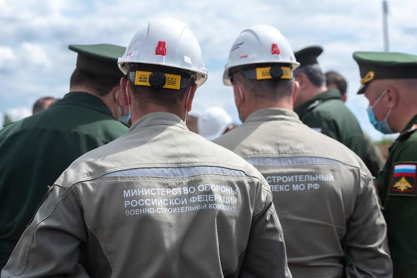 Строительство быстровозводимой инфекционной больницы по проекту Министерства обороны России