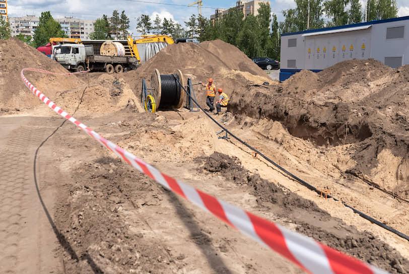 Центр строится на левом берегу Воронежа рядом с БСМП ;№8 по типовому проекту быстровозводимых объектов Минобороны