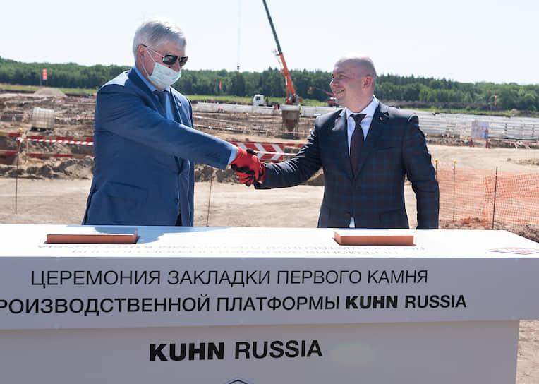 На площадку Kuhn вышла после восьми лет переговоров с воронежскими властями
