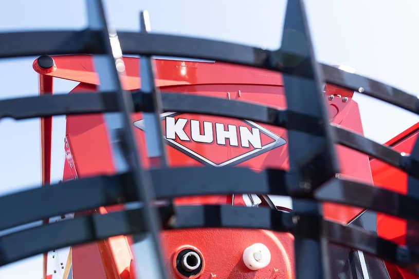 Гости ознакомились с сельхозтехникой производства Kuhn