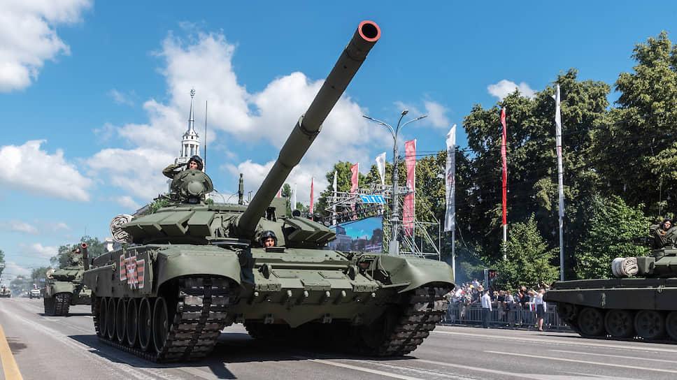 В параде Победы-2020 в Воронеже приняли участие 2,3 тыс. человек и 104 единицы вооружения и военной техники