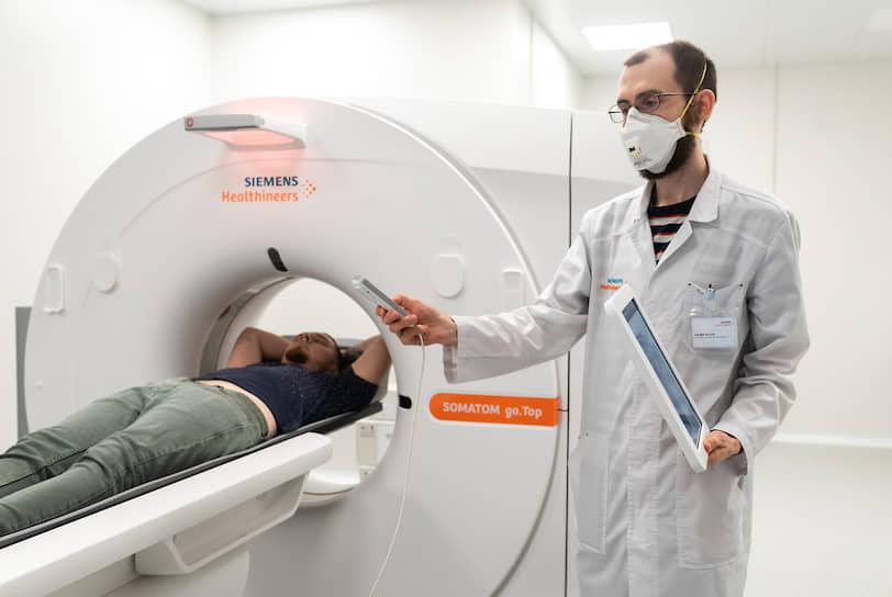 По словам Станислава Попова, главврача БСМП №8, чьим структурным подразделением пока будет учреждение, центр оснащен самым современным оборудованием, в том числе компьютерным томографом, позволяющим делать до 100 исследований в сутки