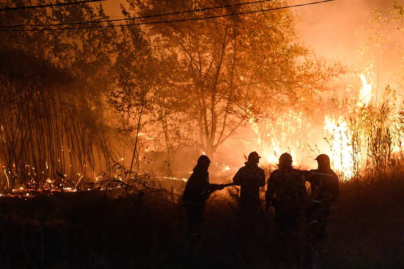 В выходные 26-27 сентября в Воронежской области произошло 178 пожаров, в том числе 152 ландшафтных (в их числе — шесть лесных). Впервые в 2020 году были задействованы противопожарные группировки из других регионов и волонтеры