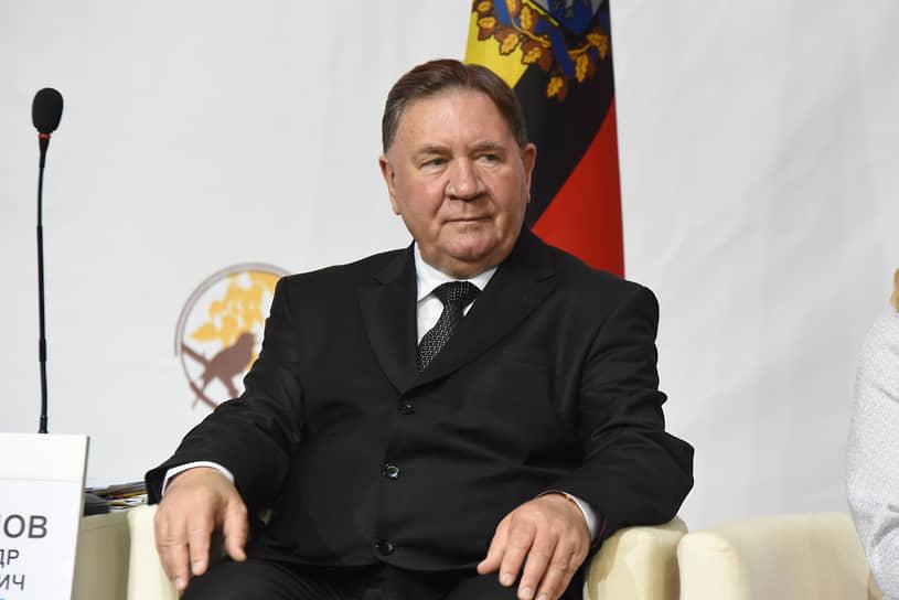Губернатор Александр Михайлов. на Среднерусском экономическом форуме СЭФ-2018