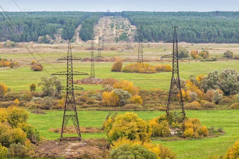 Энергосистема Воронежской области условно разделена на три энергорайона — Воронежский, Южный и Восточный