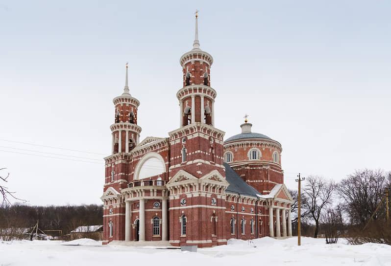 Церковь Владимирской иконы Божией Матери (Баловнево, Липецкая обл.)