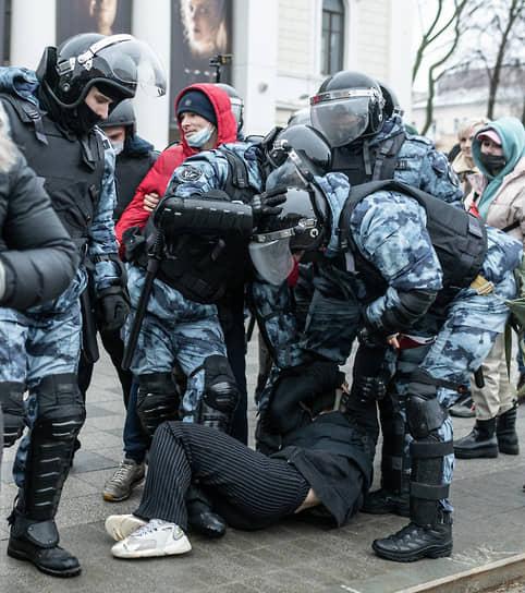 Митинг в поддержку политика Алексея Навального в Воронеже.