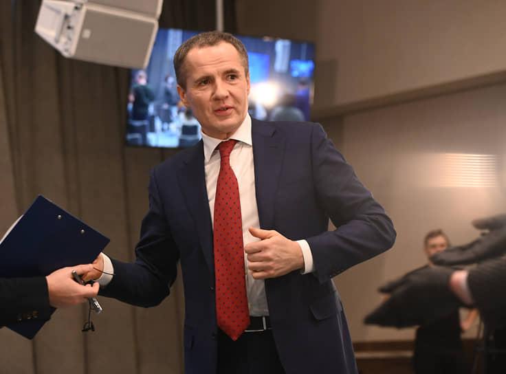 «Не вижу, что в чем-то ошибся пока»,- отметил господин Гладков, говоря об итогах первых месяцев на посту главы региона