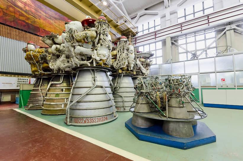 Цех сборки ракетных двигателей для космических ракет-носителей Конструкторского бюро химавтоматики