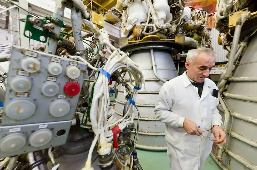 Цех сборки двигателей для космических ракет-носителей Конструкторского бюро химавтоматики