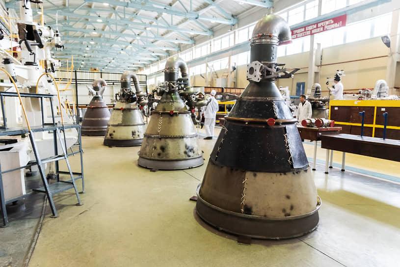 Цех сборки ракетных двигателей Воронежского механического завода