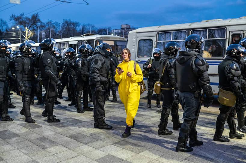 «Работа правоохранительных органов отличалась максимальной корректностью и уважением к согражданам»,— отметили в мэрии Воронежа.