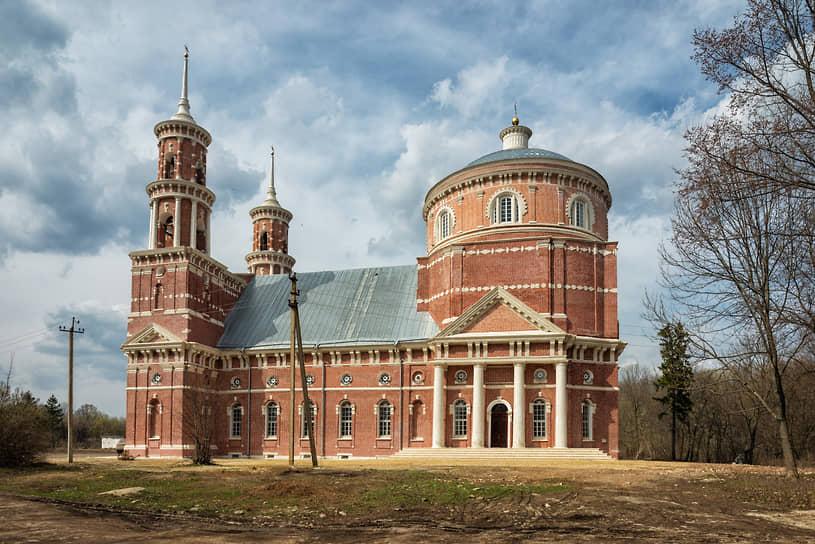 Церковь Владимирской иконы Божией Матери, село Баловнево, Липецкая область
