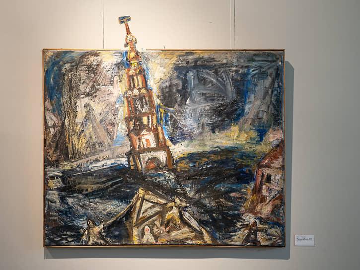 В муниципальном выставочном зале на Кирова,8 до 27 июня показывают живопись Павла и Виктории Никоновых