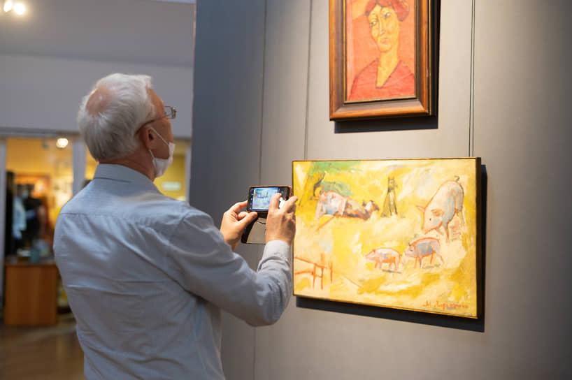 Художественная программа состоит из трех выставок. В музее имени Крамского до 25 июля показывают экспозицию основателей русского авангарда «Бубновый валет. Эманации измов»