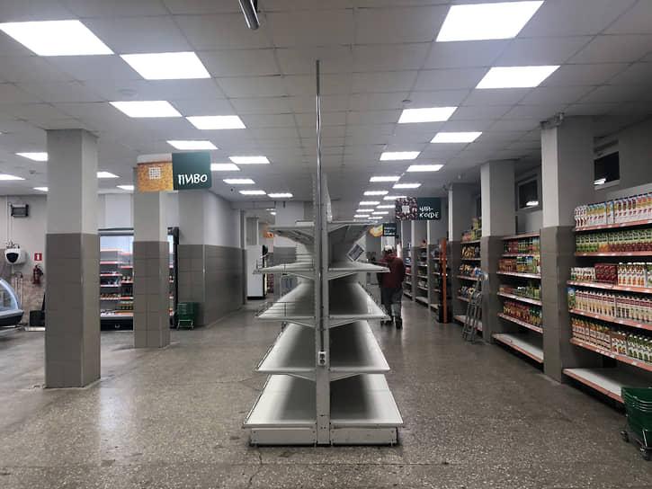 Апрель 2020 года. Дефицит продуктов в магазинах в момент начала самоизоляции оказался очень краткосрочным