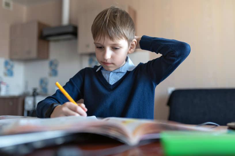 Март-апрель 2020 года. Начало дистанционного домашнего обучения студентов и школьников