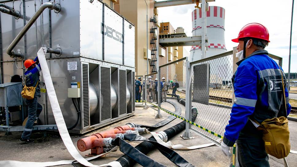 Все энергоблоки НВ АЭС во время учений работали в штатном режиме.