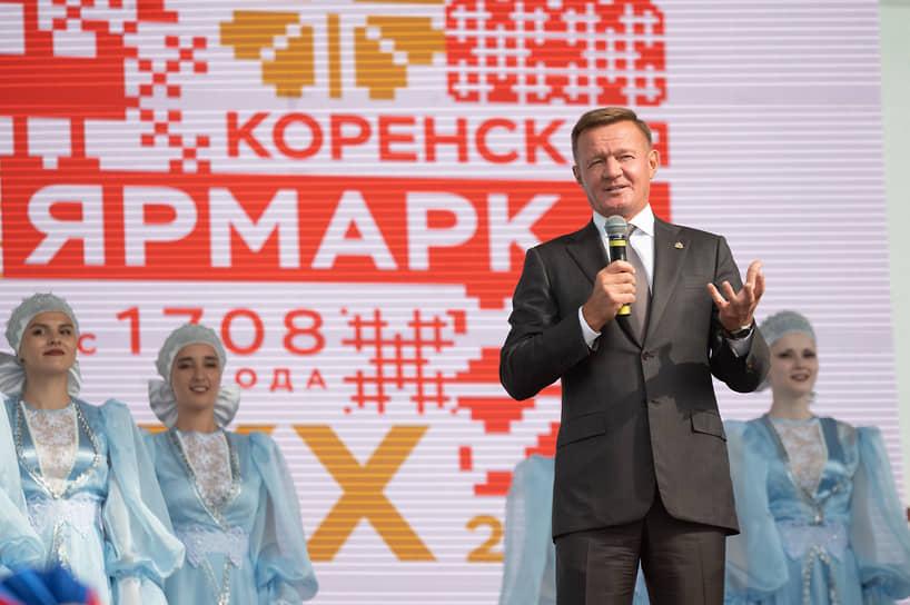 Официальный старт мероприятию дал глава курской области Роман Старовойт, который назвал ярмарку основной площадкой для демонстрации достижений региона, заключения соглашений и укрепления международных связей