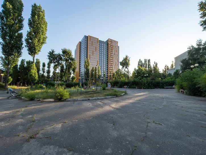 Главным активом ДК с точки зрения девелоперов является парк на участке общей площадью 2,2 га на улице Ворошилова, 19