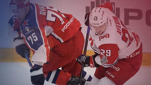 «Локомотив» всухую выиграл у ЦСКА в первом матче серии плей-офф КХЛ