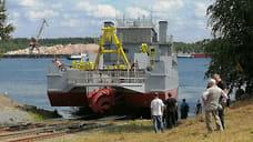 Ярославский судостроительный завод спустил на воду судно по заказу Минобороны РФ