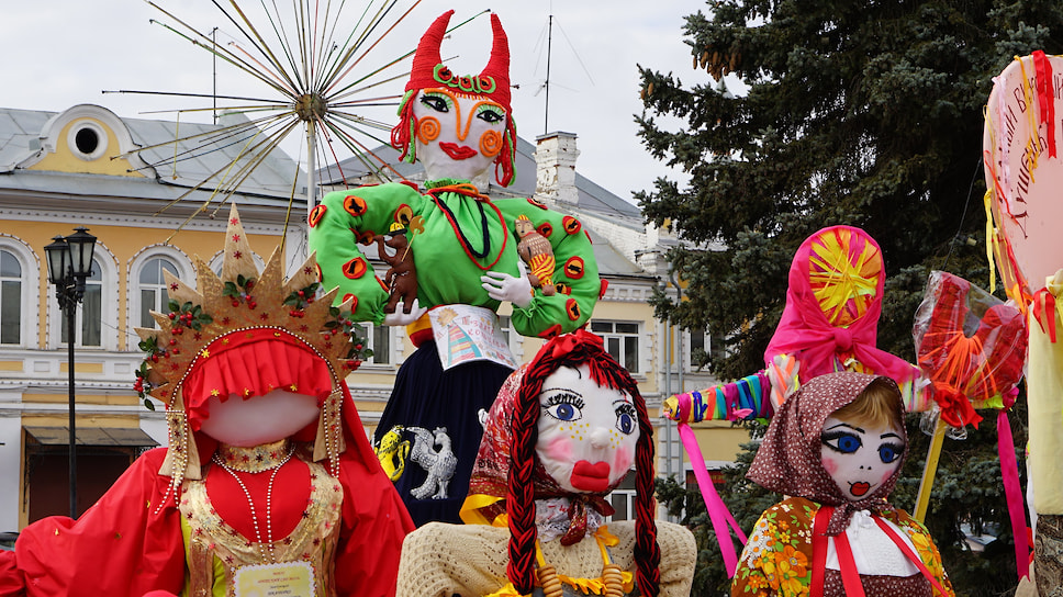 «Блины! Перформанс! Променад!» / Главная Масленица России в этом году пройдет в формате арт-фестиваля