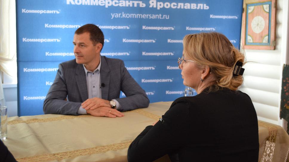 Один из спикеров онлайн-марафона — мэр Ярославля Владимир Волков