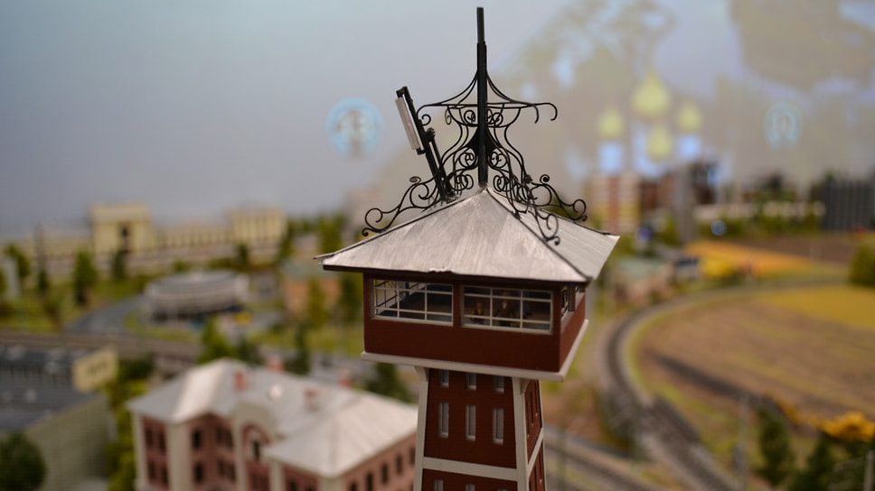 Пожарная каланча в Рыбинске одна из самых высоких в России